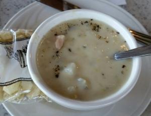 Anthonys clam chowder